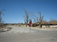 This is what George AFB left after closing in 1991 Victorville, Ca.