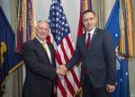 Mattis Praises Romania for Defense Partnership https://www.defense.gov/News/Article/Article/1317769/mattis-praises-romania-for-defense-partnership/ For more military news join us at facebook.com/groups/milfeedgroup
