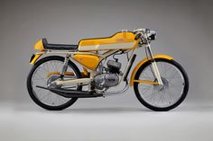 Beautiful Italian Motorcycles from the 1950s and 1960s – even their tiddlers had style…