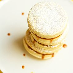 Alfajores Recipe   Brown Eyed Baker- big hit at Father's Day cookout.