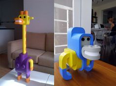 Minimals: Modular Toy Animals by Sebastián Burga toys animals