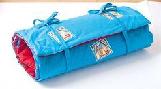 Strandlaken mit Kissen - Kostenlose Anleitung. ✓ Einfach nachzumachen ✓ Material online bestellen ✓
