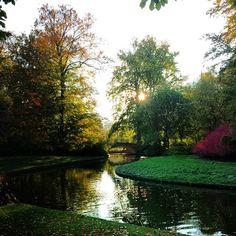Frederiksberg garden in Denmark