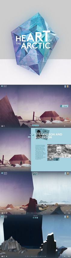 From the unique layout to the chillingly beautiful color palette - we love this web design! Site Design, Tool Design, App Design, Design Art, Branding Design, Typography Design, Webdesign Inspiration, Web Inspiration, Graphic Design Inspiration
