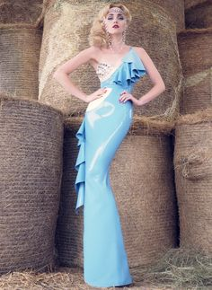 Latex Drama Queen Dress