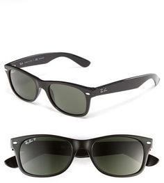 Ray-Ban 'New Small Wayfarer' 52mm Polarized Sunglasses $180.00 $144.00