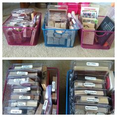 Stamp craft organization