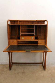 Art Nouveau Secretaire Desk