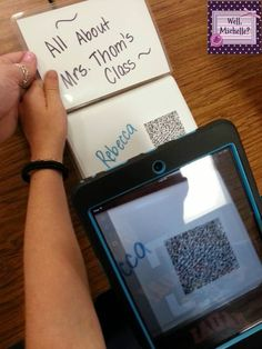 Bright Idea ~ Student Created QR Codes!