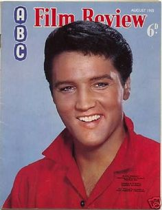 "Elvis Presley on the cover of ""ABC Film Review"" magazine, United Kingdom, August 1964."