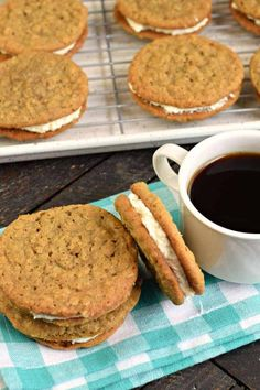 Copycat Little Debbie Oatmeal Cream Pie Recipe - Shugary Sweets