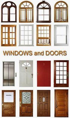 Engineering  et Architecture: Fonctions et types des portes et fenêtres