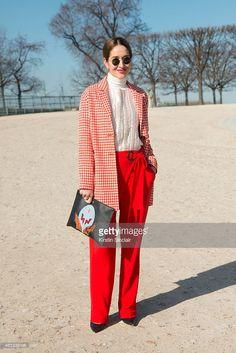presenter and fashion journalist Tiany Kiriloff wears an Essential... Nachrichtenfoto | Getty Images