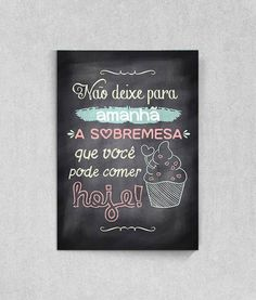 Poster Quadro Negro Free Prints, Buffet, Lettering, Wall Art, Cool Stuff, Inspiration, Posters, Frames, Pizza