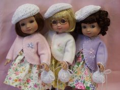 Ann Estelle Doll Clothes Patterns | Embroidered Doll Coat Blythe Riley Betsy McCall 10 Inch Ann Estelle ...