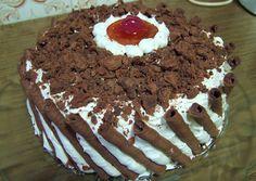 κύρια φωτογραφία συνταγής Τούρτα Cathrina Greek Desserts, Greek Recipes, Black Forest Cake, Recipe Boards, Love Chocolate, Recipe Images, Easy Cake Recipes, Caramel, Cake Decorating
