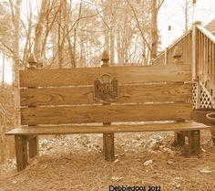 Rustic Bench.