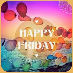 Happy Week, Happy Friday, Days And Months, Its Friday Quotes, Morning Greeting, Daily Quotes, Good Morning, Wish, Neon Signs