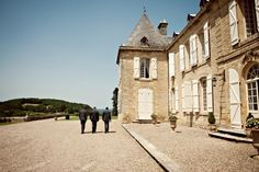 chateau lacoste dordogne  | Photography © - Karen McGowran Photography on French Wedding Style Blog