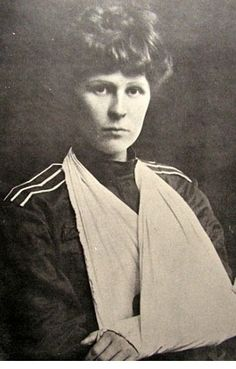 Russian Civil War. Zinaida Reformatskaia. In 1917, she graduated from the Alexander Military School, received the rank of officer. Participant Ice March.  Many times wounded. Died December 16, 1968 in El Paso, TX, United States.