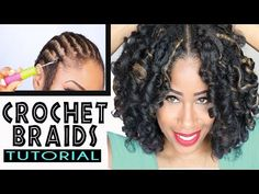 How To: CROCHET BRAIDS w/ MARLEY HAIR ! (ORIGINAL no-rod technique!) - YouTube
