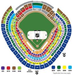 Yankee Stadium Seating Chart With Rows Detailed Seating