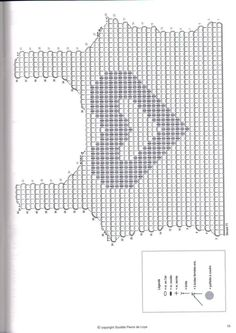 Patron Crochet Top Corazon - Patrones Crochet Coração de paetes