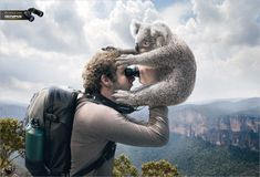 Funny Print Ads- Olympus Optical Zoom~ :D