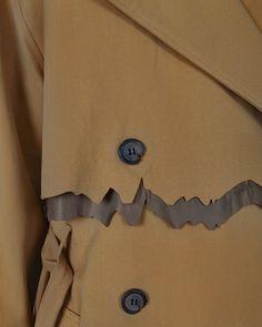 Ader detail Broken button on the tailored suit jacket of Ader Error, Dna, Designer Shoes, Design Art, Suit Jacket, Suits, Button, Detail, Jackets