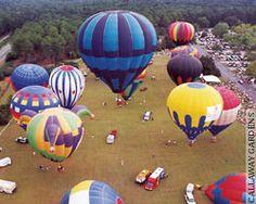 15th Annual Sky High Hot Air Balloon Festival, Callaway Gardens, Pine Mountain, Ga. http://www.nxtbook.com/nxtbooks/gemc/georgia_201308/#/10