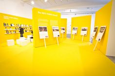 The 2013 Visible Award (by Leftloft) Exhibition Booth Design, Exhibition Display, Exhibition Space, Museum Exhibition, Exhibit Design, Store Interiors, Environmental Graphics, Design Museum, Signage