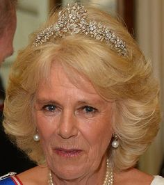 Tiara Mania: Cubitt-Shand Tiara worn by the Duchess of Cornwall
