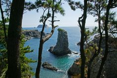 Oedolgae Solitary Rock, South Korea