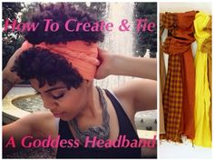 Turn Your Scarf Into A Cute Grecian Headband Read the article here - http://www.blackhairinformation.com/by-type/natural-hair/turn-scarf-cute-grecian-headband/ #headbands #naturalhairstyles