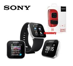 Sony MN2 SmartWatch Smart Watch Android Bluetooth FM Radio MP3 Player Email SMS
