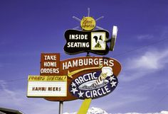 Retro signs galore: The ultimate American road trip
