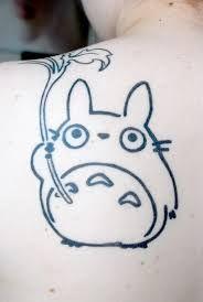 Bildresultat för totoro tattoo