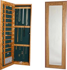 Cabinet-organizers - Large Jewelry Cabinet With Full Length Mirror - Available…