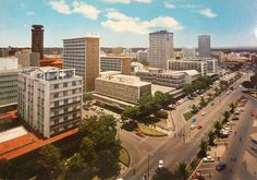 Old photo of the City Center Nairobi. BelAfrique - your personal travel planner - www.BelAfrique.com