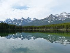 Lake Herbert at Banff National Park