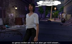 Sims 4 Welt Story - Die Bar in der Gasse Sims 4 Stories, 4 Story, Bar, Going Out, World