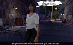 Sims 4 Welt Story - Die Bar in der Gasse