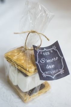 S'more's Wedding Favors
