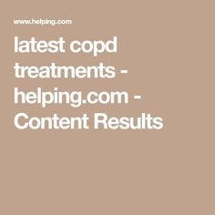 latest copd treatments - helping.com - Content Results Air Fry Potatoes, Fried Potatoes, Content, French Fries Crisps, Chips, Potato Fry