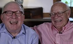 From couple, to father and son, to husband and husband: And it only took 53 years.