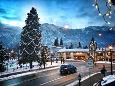 Washington state's charming Bavarian village, Leavenworth. I' lived near there and would love to go back and do visit other things in this list