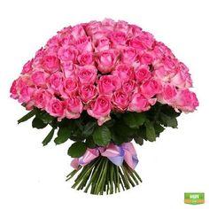 101 розовая роза http://flora2000.ru/p/101_rozovaya_roza