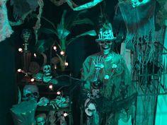 Magalie Sarnataro's prop Halloween 2017. Voodoo Swamp Wet bar