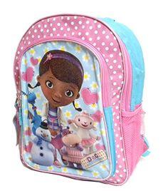 Disney Doc Mcstuffins and Friends 16 Inch Large Backpack School Bookbag  Best Backpacks For School bda8a742b8ca9