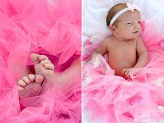 Newborn Portrait- Pink Tutu